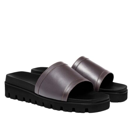 Grey elevator sandals 5