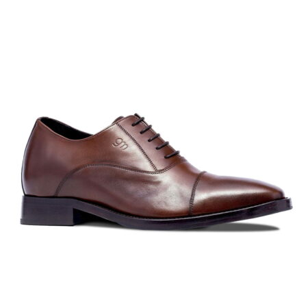 Brown classic leather shoes 1