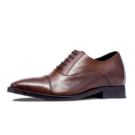 Brown classic leather shoes 3
