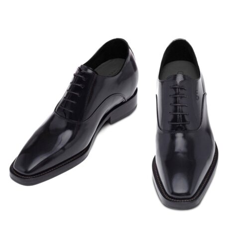 Oxford dress shoes made in Italy in real leather 2