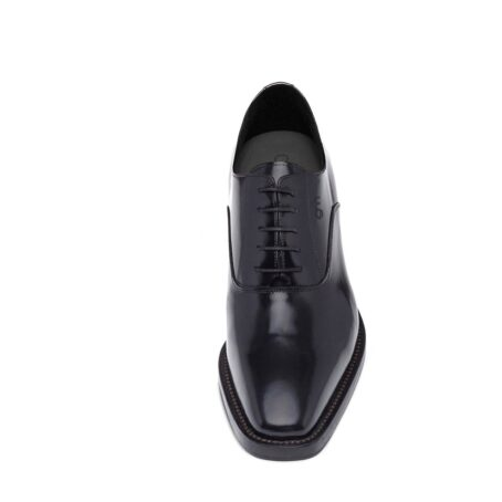 Oxford dress shoes made in Italy in real leather 4