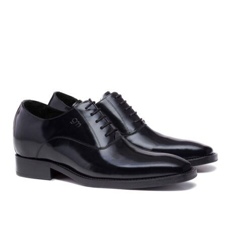 Oxford dress shoes made in Italy in real leather 5