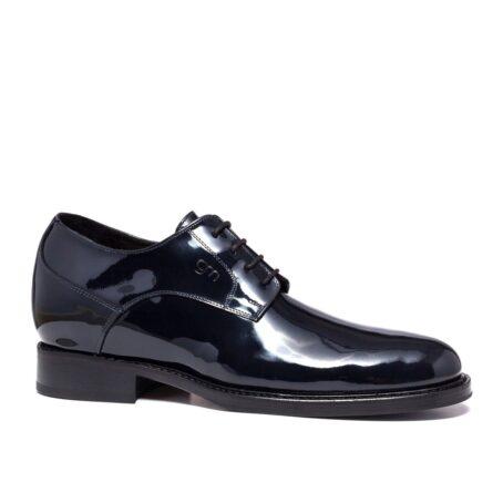 patent dress shoes model derby 1