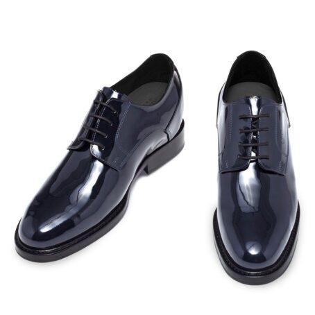 patent dress shoes model derby 2