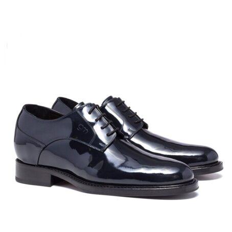 patent dress shoes model derby 5