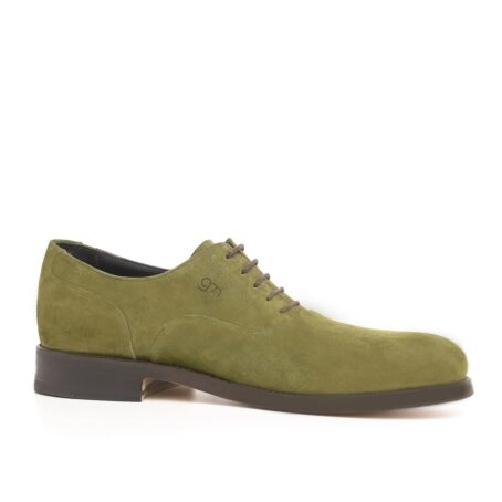 Green oxford dress shoes 1