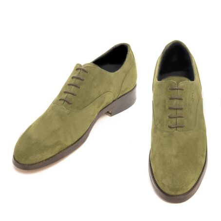 Green oxford dress shoes 2