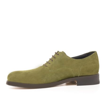 Green oxford dress shoes 3
