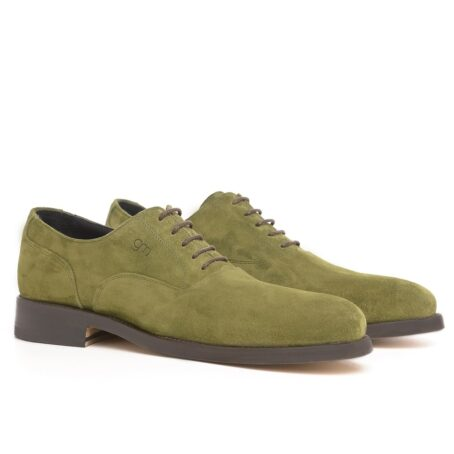 Green oxford dress shoes 5