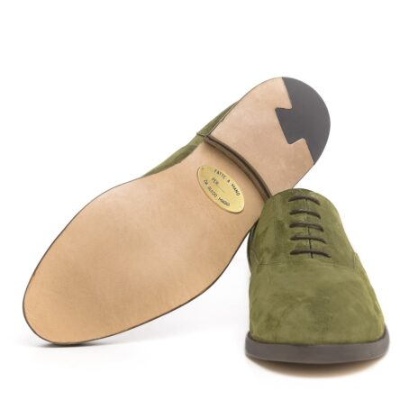 Green oxford dress shoes 6