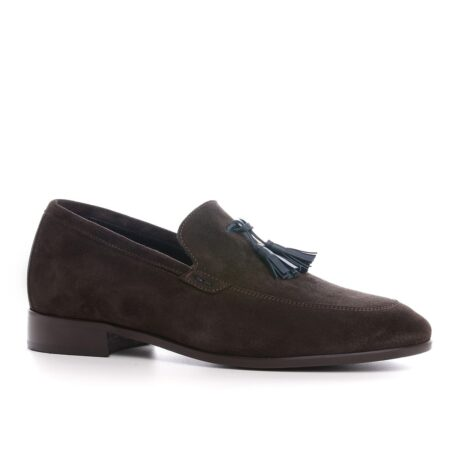 Tassel suede loafers for man 1