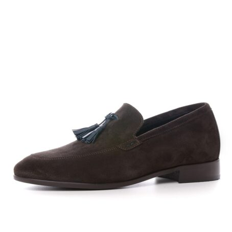 Tassel suede loafers for man 3