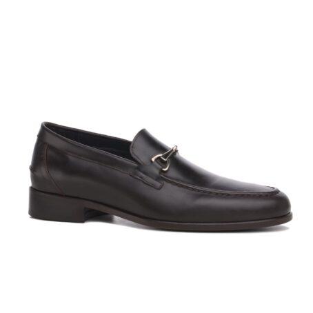Horsbit leather loafers for man 1