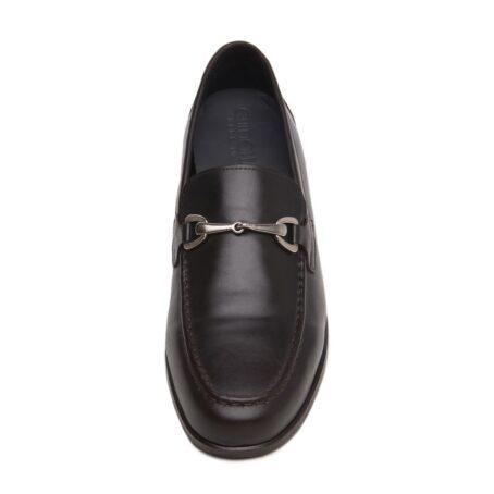 Horsbit leather loafers for man 3
