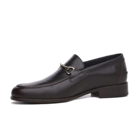 Horsbit leather loafers for man 4