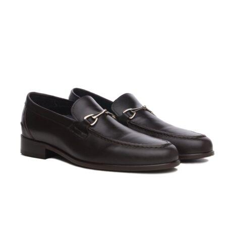 Horsbit leather loafers for man 5