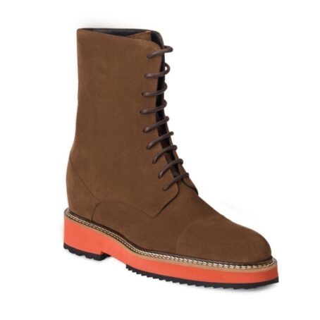 Suede brown winter boots 1