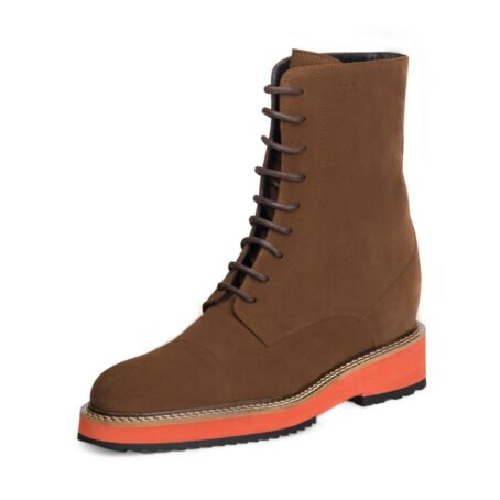 Suede brown winter boots 3