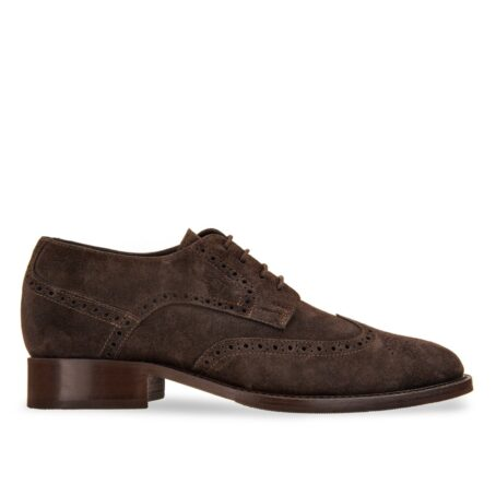 Brugue suede shoes with insole 1