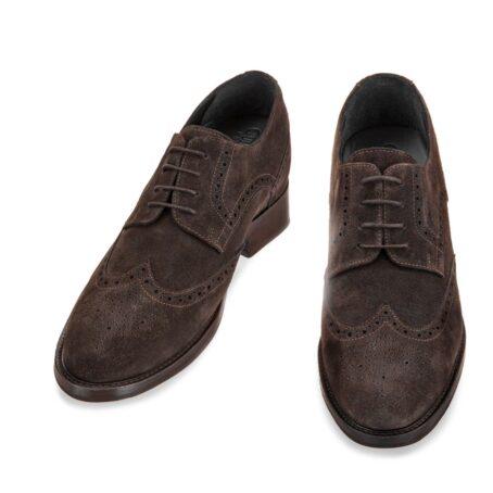 Brugue suede shoes with insole 2