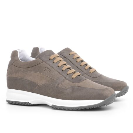 Winter suede sneakers for man 5