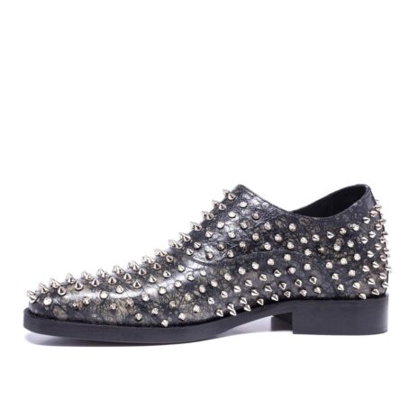 Monk strap shoes with studs for man 3