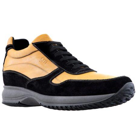 Mustard elevator sneakers for man 5