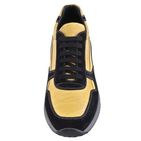 Mustard elevator sneakers for man 2