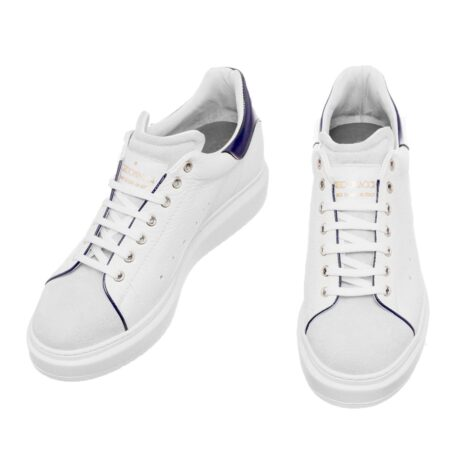 White leather sneakers for man 4