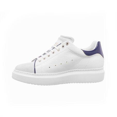 White leather sneakers for man 3