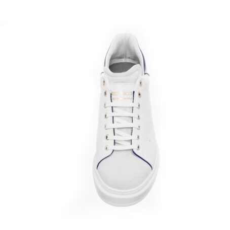 White leather sneakers for man 2