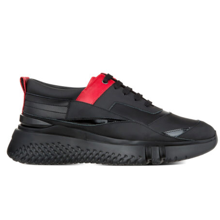 Coke Chunky leather elevator shoe sneaker for men | Guidomaggi Switzerland