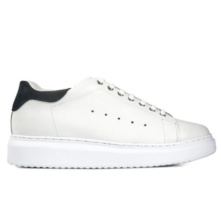 Sport leather elevator shoe sneaker for men | Guidomaggi Switzerland